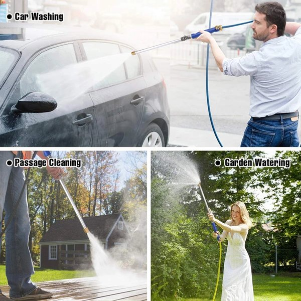 best selling Car High Pressure Water Gun 46cm Jet Garden Washer Hose Wand Nozzle Sprayer Watering Spray Sprinkler Cleaning Tool