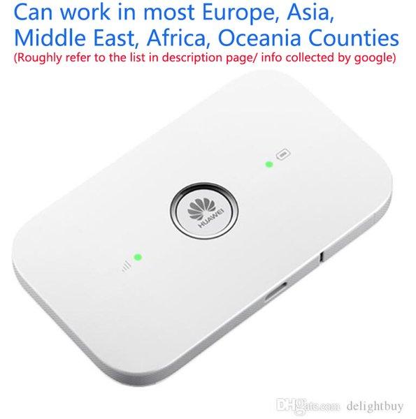 best selling Unlocked Huawei E5573 E5573Cs-322 E5573Cs-609 (HUAWEI) 4G LTE FDD 3G Wireless WIFI Mobile Hotpots Router SIM Card