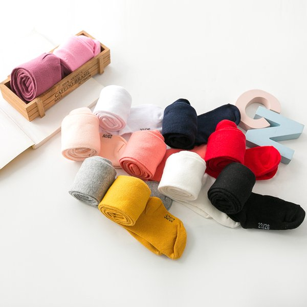 best selling 1PCS 0-6Yrs Children Tights Baby Infant Clothing Cotton Pantyhose Infant Knitted Collant Tights Autumn