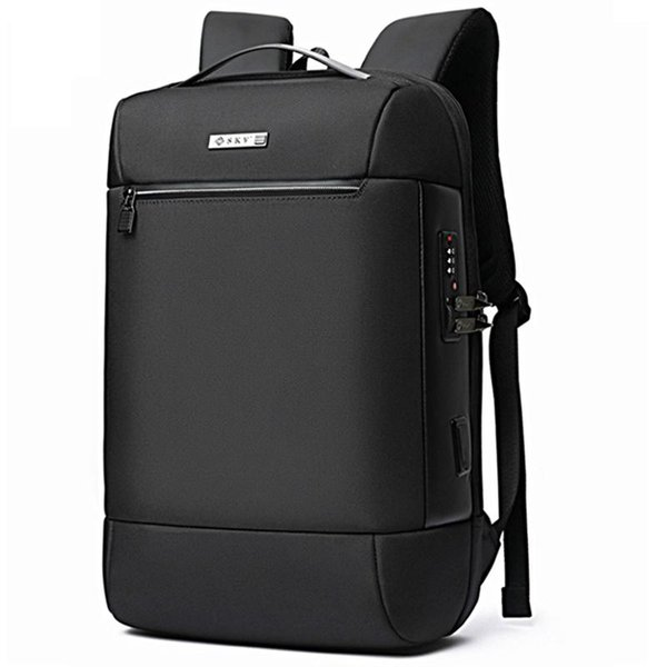 best selling Men USB Multifunctional Anti-theft 15.6 Inch Laptop Backpack Waterproof Notebook Travel Bag Rucksack Bags Pack For Male