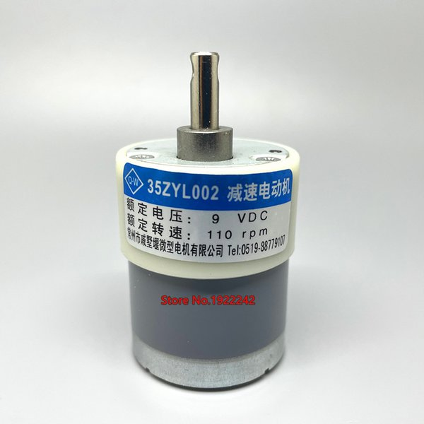 best selling 35ZYC-01 35ZYL002 530 currency counter DC gear motor 9V 110rpm ~
