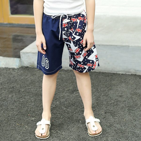 best selling Tailor Pal Love Children's Beach Fast Dry Surf Pants Casual Capris Boys' Fashion 1912