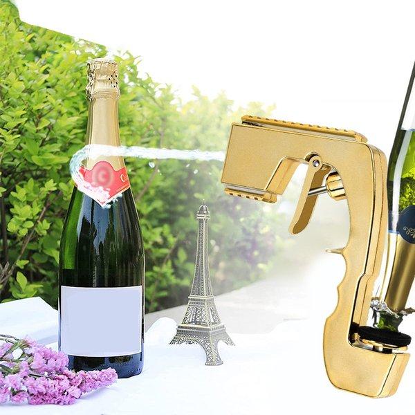 Wine Bottle Stopper Champagne Wine Dispenser Bottle Beer spray gun Bottle Cap wine stopper Ejector Feeding Bar Tools