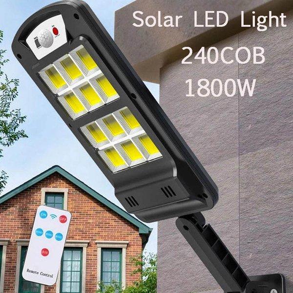 Grande tamanho 12 * COB rua luzes