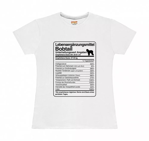 T-Shirt Womens dose Bobtail Life Supplements by siviwonder