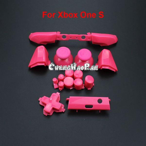 B розовая красная