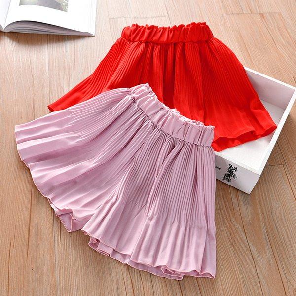 best selling Children's Fashion 3-piece 2021 Summer New Girls' Wear Versatile Thin Cotton Shorts Beach Skirt Pants