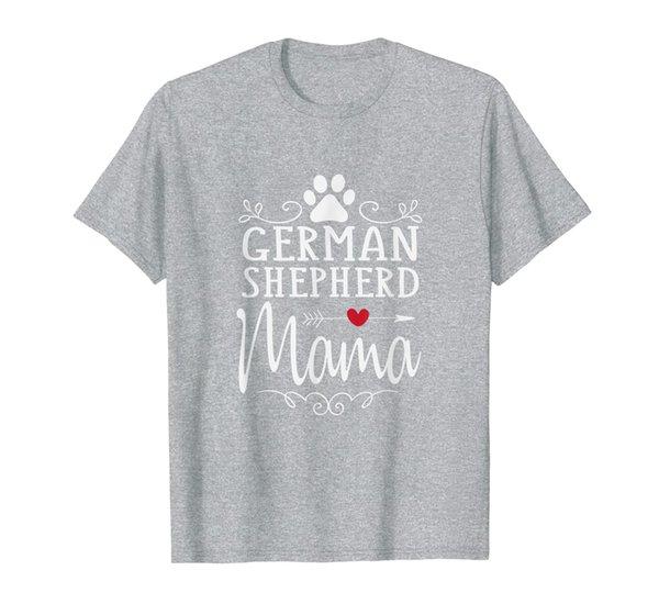 German Shepherd Mama - German Shepherd Lover Shirt Gift