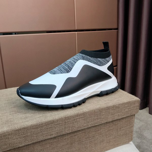 Four seasons classic fashion sports shoes breathable shock absorption men sports running shoes outdoor casual shoes