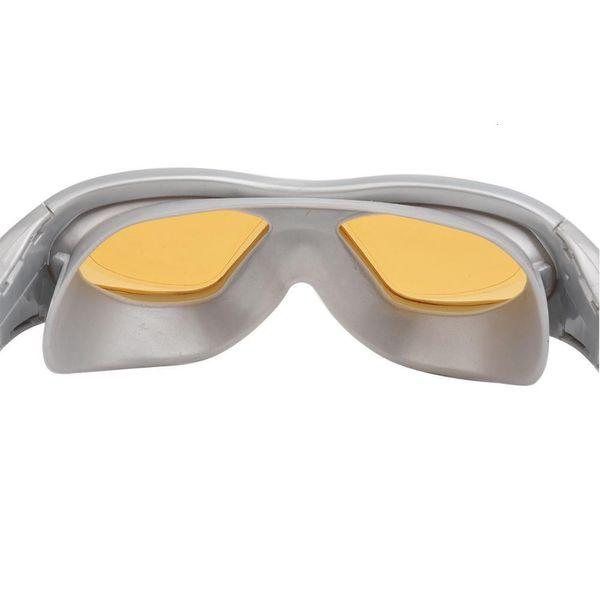 top popular Clear Version Swimming Glasses Men Anti Fog Waterproof Professional Big Frame Swim Pool Eyewear Natacion Adult Diving Goggles 2021