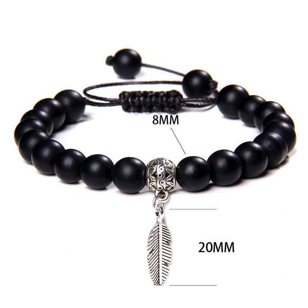 Onyx noir réglable