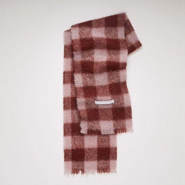 Marked - Brick Red Lattice-35x210cm
