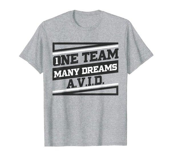 AVID One Team Fun Teacher School T shirt Student T-Shirt