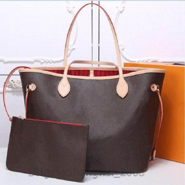 top popular Fashion Women luxurys designers bags 2pcs set crossbody shoulder Handbag Handbags Messenger Bag Credit card holder Coin purses #51688 2021