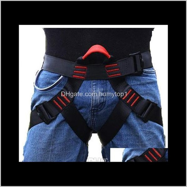 best selling Harnesses Protect Waist Safety Half Body Harness For Mountaineering Fire Rescuing Rock Rappelling Climbing Ny040 Znsac Hdx7Q