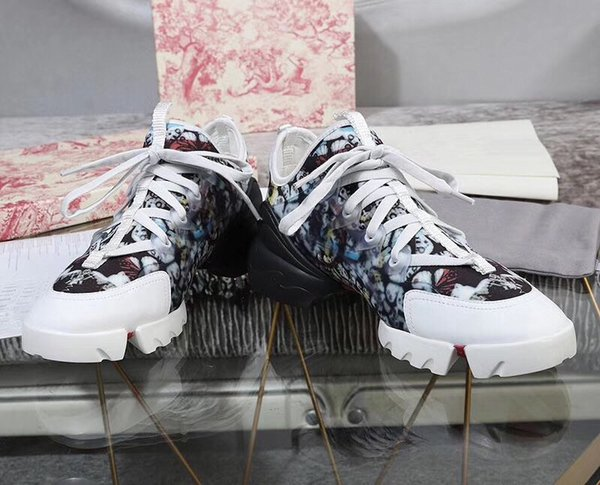2021 fashion casual block archlight genuine leather dad shoe sneakers shoes mesh black breathable bows platform popular