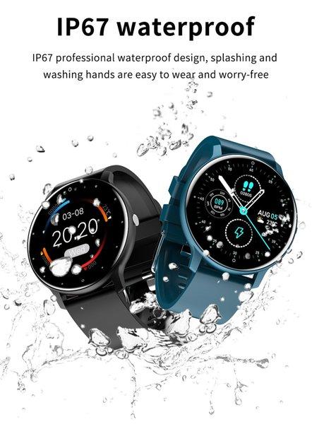 top popular 2021 ZL02 Smart Watches 2021