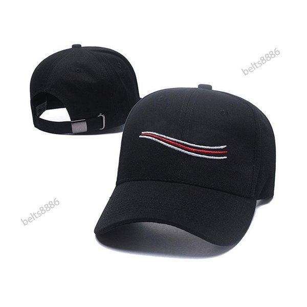 top popular Hip hop ball caps Classic Color casquette de baseball Fitted Hats Fashion Sport Men and women 2021