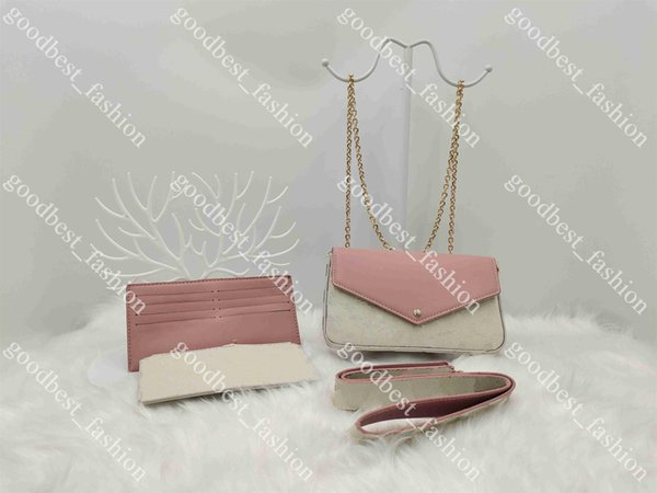 Tener logo rosa cuadrícula blanca 21 cm * 3 cm * 13cm