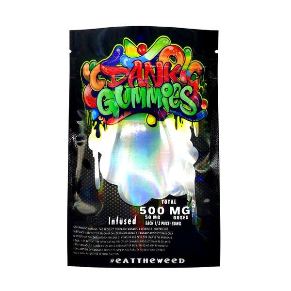 어두운 댄스 Gummies Bag.
