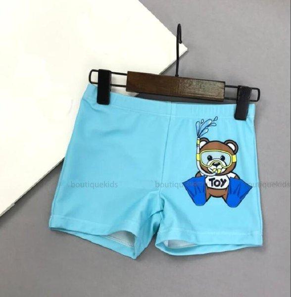 top popular Kids Swimwear 2021 Board Shorts Boys Summer Swim Child Cartoon Beach Pants Girls Short Baby letter print Fashion Casual 2021