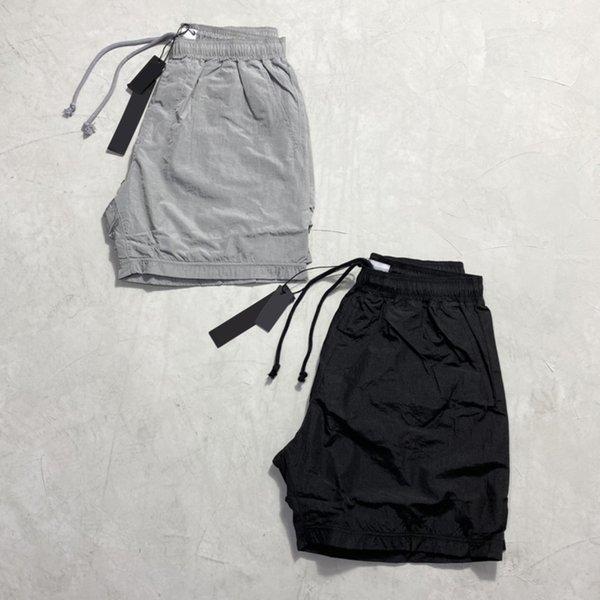 top popular Summer Mens Shorts Joggers Pants Male Designer Trousers Black Silver EU Size S-XL #90587 Top Design 2021