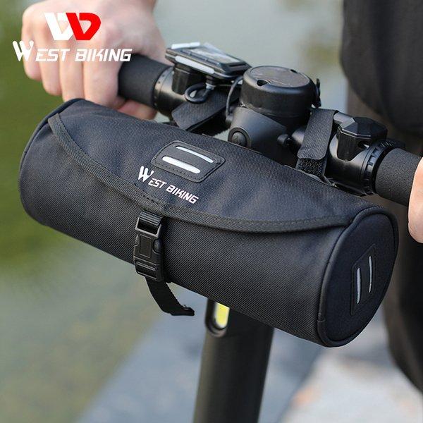 top popular WEST BIKING Multifunctional Bike Bag Scooter Electric Folding Bicycle Handlebar Bag Rainproof Frame Saddle Cycling ccessories 2021