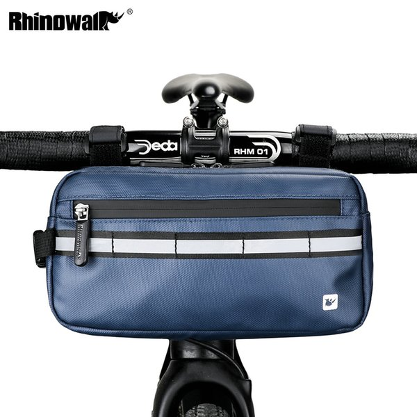 best selling Rhinowalk Bicycle Bag 3LFront Tube Frame Handlebar Bag Waterproof MTB Bike Triangle Bag Cycling Pannier Bicycle ccessories
