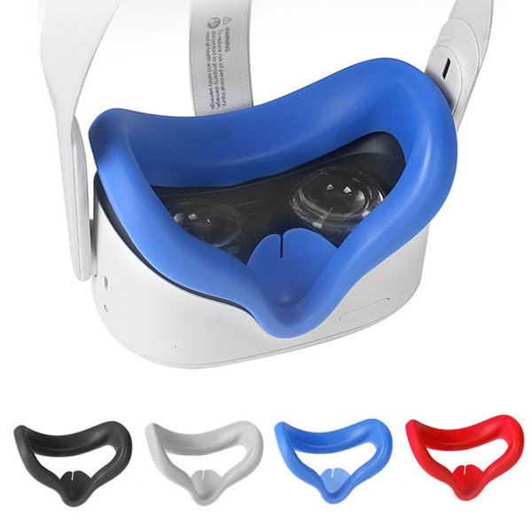 VR AR Glasses Accessories Eye Mask Cover Pad For Oculus Quest 2 VR Headset Breathable Anti-sweat Light Blocking Eye Cover For Oculus Quest2 on Sale