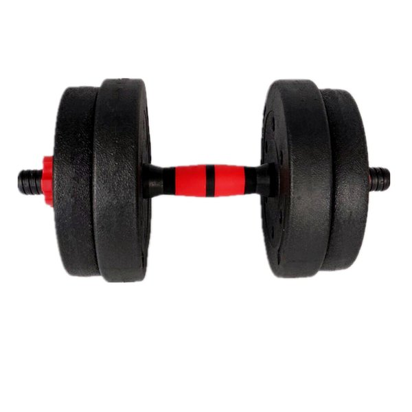 best selling 20KG 44LB Adjustable Dumbbell Weight Set Weights plastic cover Gym Workout Environmentally Men'S Fitness Dumbbells