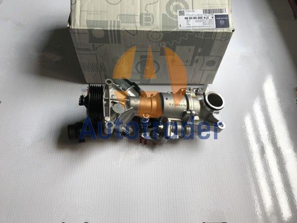 top popular Water Pump for Mercedes-Benz M274 w204 w205 w212 w253 C180 C200 2742001407 2021