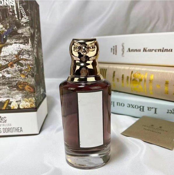 top popular 2021 New lady owl shape bottle durable perfume 75ml the Ruthless Deodorant milk EAU 2021