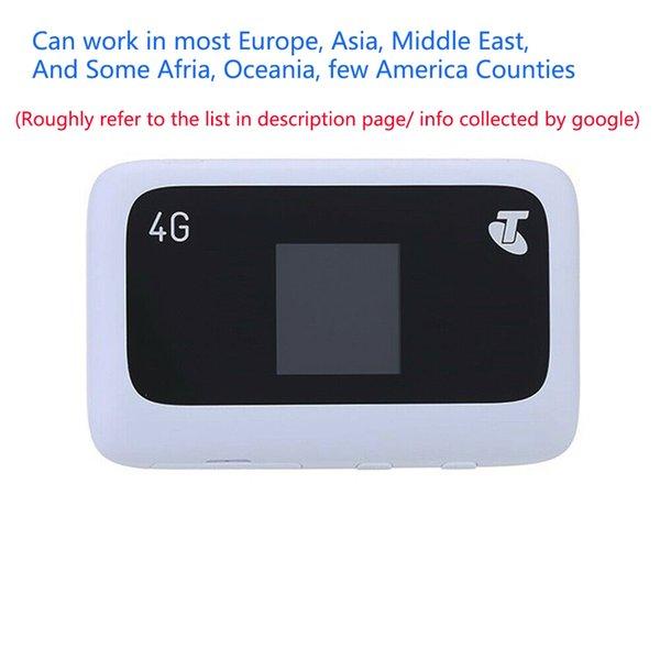 top popular UNLOCKED ZTE MF910 MF910s Mobile Hotspot 150Mbps LTE 4G 3G Router Modem WiFi +2pcs antenna 2021