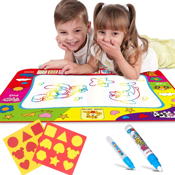 best selling Magic Water Drawing Mat 80*60CM Water Drawing Digital Toys Doodle Mat Letter Painting Board Educational Toy For Kids