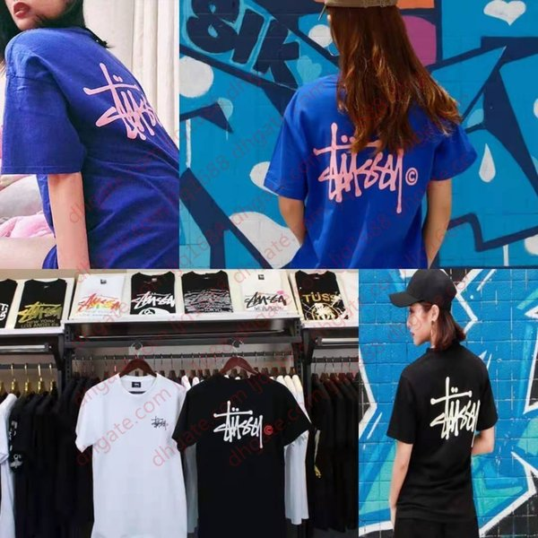top popular DesignerSummer T-shirt Trend Brand Designer Luxury Street Hip Hop American Short Sleeve Shirt 2021