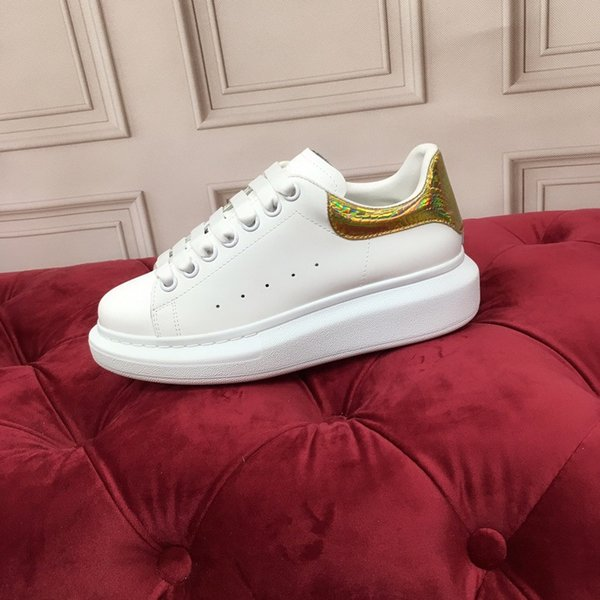 Fashion Designer sneakers Printed Genuine Leather Sneakers leisure low top high top Casual Shoes fashion leather sneakers size 35-45