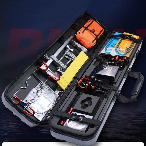 best selling Rod Reel Combo Hand Pole Fishing Carbon Fiber Ultralight Hard Trolling Spinning Angelrute Gear
