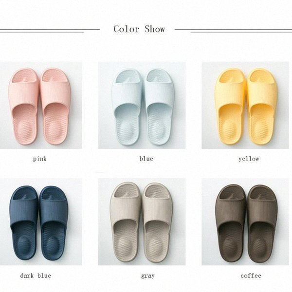 Womens Non Slip Slippers Summer Comfortable Bathroom Massage Indoor Home Slippers Breathable Summer Casual Household Shoes w5Pa#