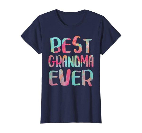 Womens Best Grandma Ever T-Shirt Mother's Day Gift Shirt