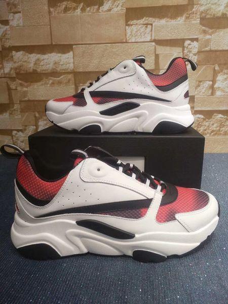 High Quality Mens Casual Shoes Dad Sneaker Paris Fashion Women Shoe Platform Sports Trainers Wave Mouth Tiger Web