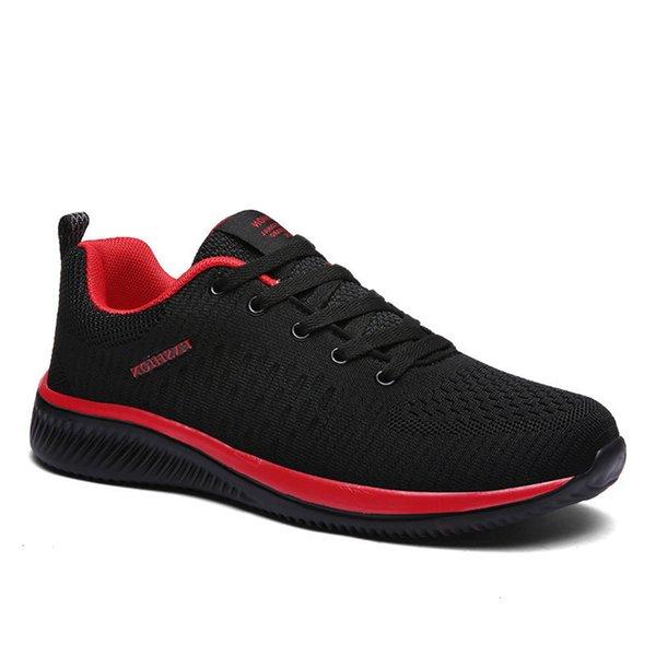 B2XE Casual shoes 2019 New Mesh Casual Comfortable Men Lightweight Breathing Walking Shoes Sneakers Tennis Feminino Zapatos Big Size 47 B67W