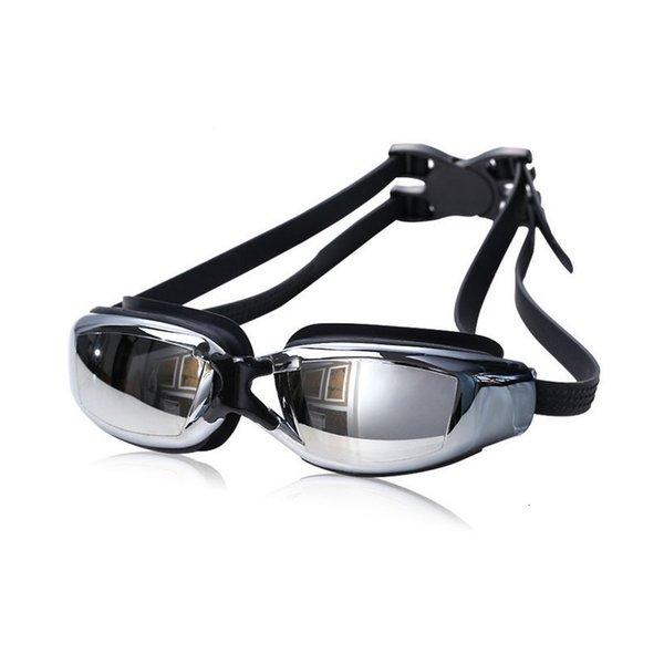 top popular Swim Glasses Myopia Prescription Corrective Lens Pool Waterproof Adult Child Professional Swim Eyewear Optical Swimming Goggles 2021
