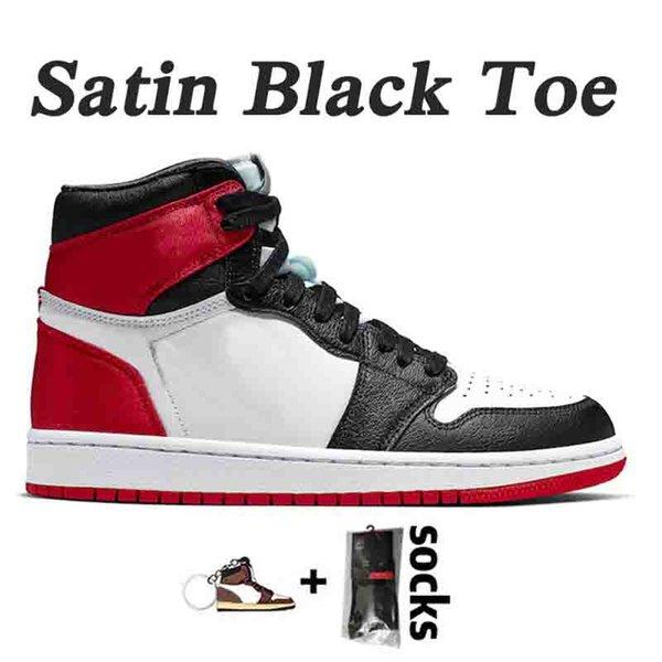 B34 36-46 Satin Black Toe