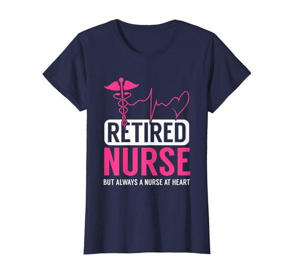 Womens Retired Nurse Cool Nursing Retirements Gift For Nurses T-Shirt