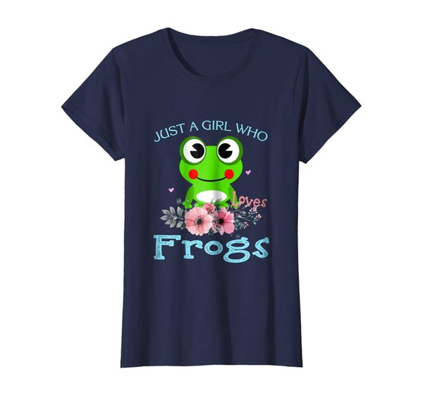 Just a Girl Who Loves frogs - frogs Lover T-Shirt