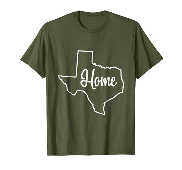Texas Home T-shirt I Love Texas The Lone Star State Texas