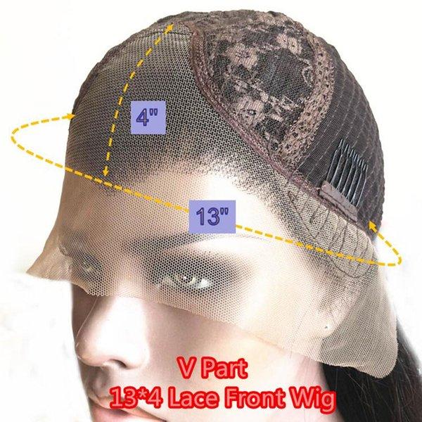 130 densidad 13x4 v parte peluca
