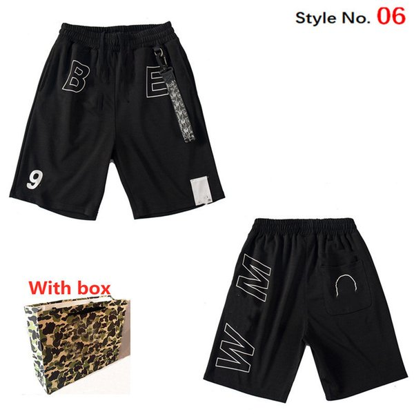 best selling New Women shorts quick-drying girl swimming camouflage pants Luminous Shark Headbeach pants striped casual shorts hot pants with label bo