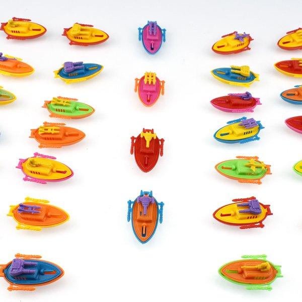top popular Children's Plastic Gunboat Model Set Educational Toy Small Gift 2021