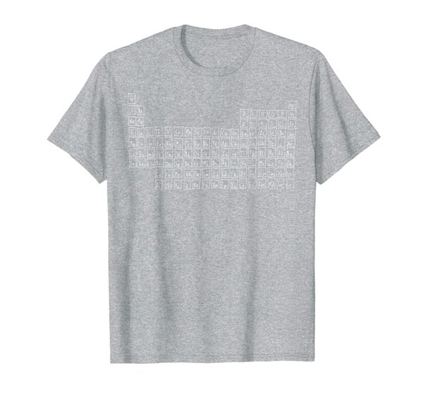 Periodic Table Of Elements T-Shirt Handdrawn Tshirt Gift
